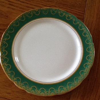 Vintage bone china English dinner service