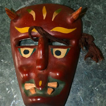 Another Mexican Mask from Michoacan