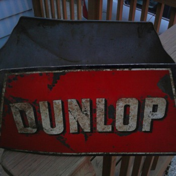 Dunlop Tire Display Stand - Petroliana
