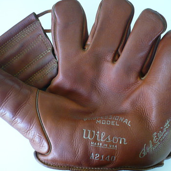 Bob Elliott Glove - Baseball