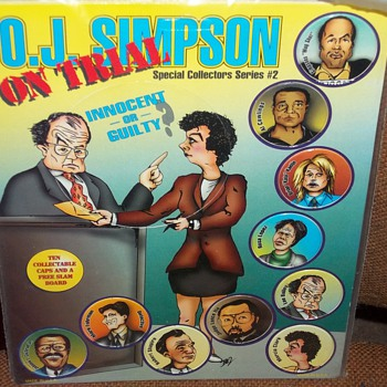 O.J. SIMPSON ON TRIAL SPECIAL COLLECTOR'S SERIES #2 - Paper