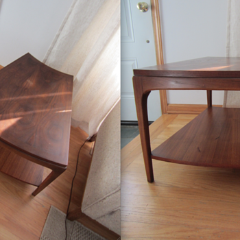 Lane Wedge Table - Furniture