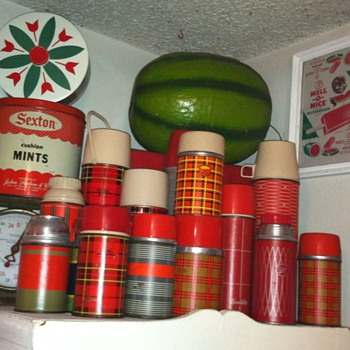 Vintage Thermos Bottles