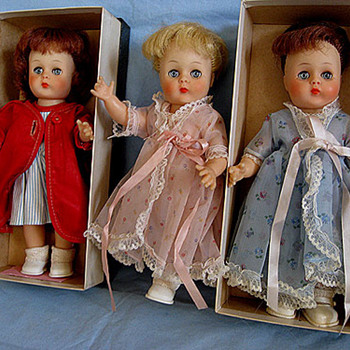 Horsman dolls from the mid 1950's to early 1960's