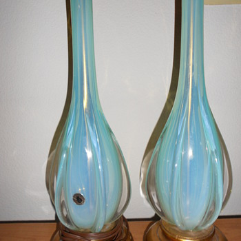 Murano  Galliano Ferro lamps!