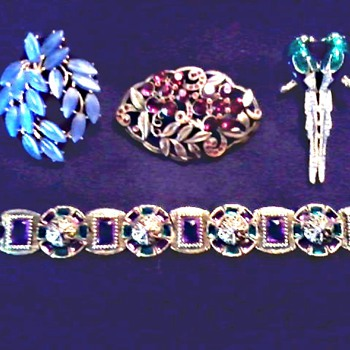 "My First ""Trifari"" and More Vintage Costume Jewelry/ Circa 20th Century"