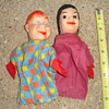 HOWDY DOODY AND PRINCESS WINTERSPRING SUMMERFALL CLOTH HAND PUPPET