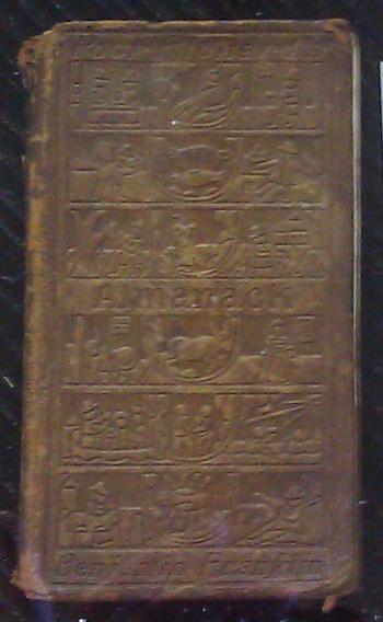 1898 poor richard 39 s almanack collectors weekly for Poor richard s fishing report