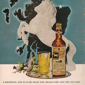 1954 White Horse Scotch Advertisement 3