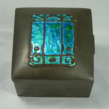 Liberty & Co. Tudric Pewter Boxes with Enamels by Knox and Varley - Art Nouveau