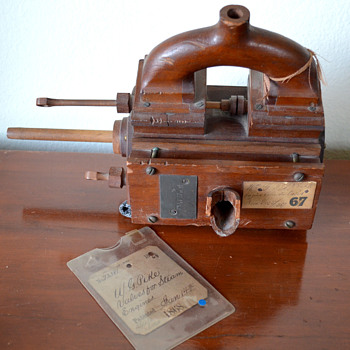 Antique Steam Valve Prototype - Tools and Hardware
