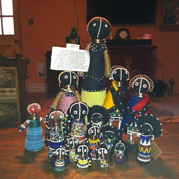 Zulu Ndbele,Matron,Sangoma,south african dolls