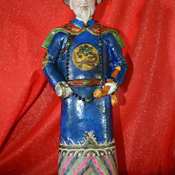 Second Chinese Porcelain Statue - Asian