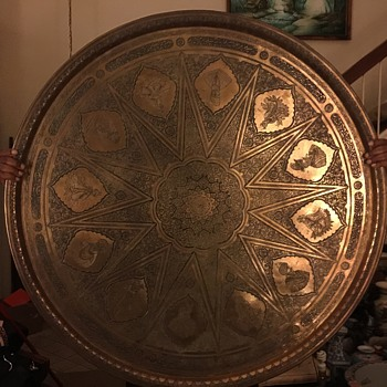 Brass Table Top-Persia?