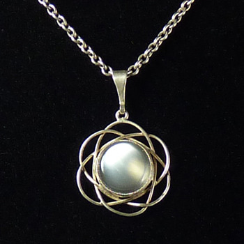 Liberty & Co Moonstone Silver Pendant