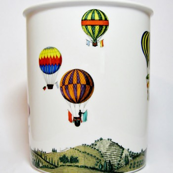 "FORNASETTI FOR ROSENTHAL-GERMANY "" MONGOLFIERE"""