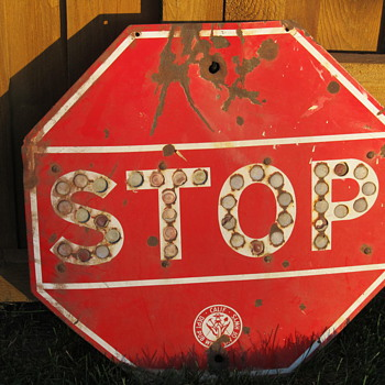 Reflector Stop Sign - Signs