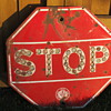 Reflector Stop Sign