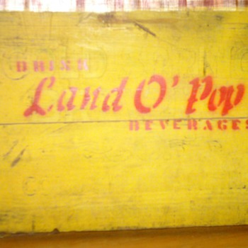 Cold Spring Brewing/ Land O' Pop Crate - Advertising