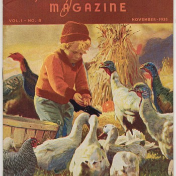 1935 - Recipe of the Month Magazine - November - Books