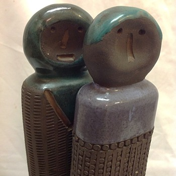 Unknown maker of Scandinavian? Pottery / Ceramic figures sculpture