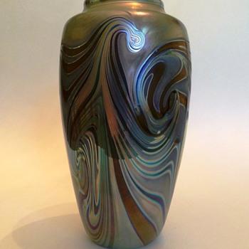 Craig Zweifel Pulled Swirl Vase