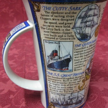 Perfect condition maritime coffee cup - China and Dinnerware