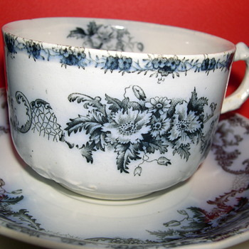 Meakin Flow Blue - What Pattern - China and Dinnerware