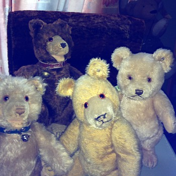 More Teddies I LOVE! - Dolls