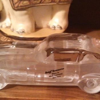 Hofbauer Crystal Car - Art Glass