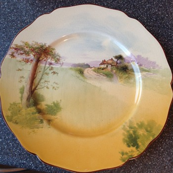 Royal Doulton plate - Art Pottery