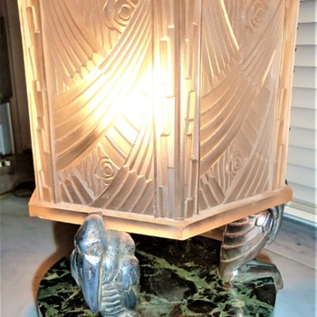 ART DECO TABLELAMP - Art Deco