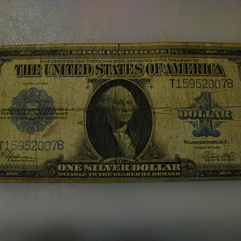 1923 One Dollar Bill - US Paper Money