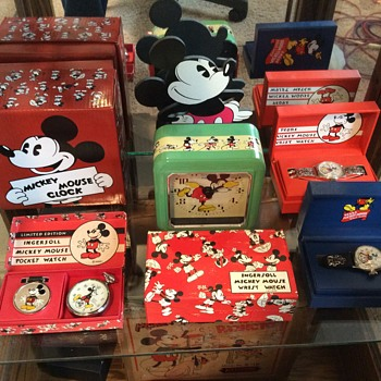 Reproduction Ingersoll Mickey Mouse Timepieces - Wristwatches