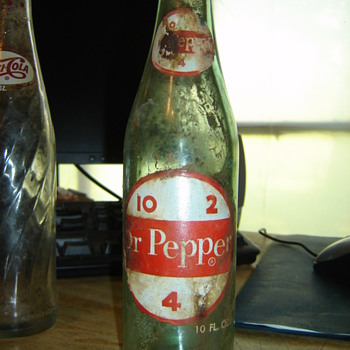 Farm Fresh Dr. Pepper - Bottles