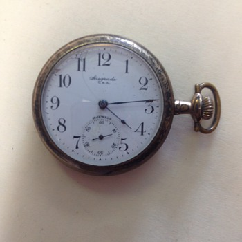 Hiegrade U.S.A. Pocket Watch, 15jewels