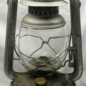 Vintage Nier Feuerhand 280 Lantern