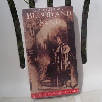 Valentino Silent, Blood & Sand,  with Lila Lee and Nita Naldi