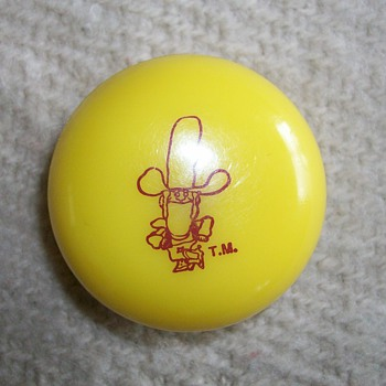 Corn Pops Cereal Yo-Yo Premium Toy