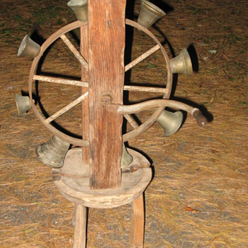 Bell Wheel Curious New England Item
