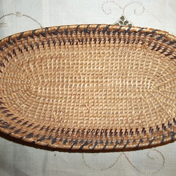 Native American Washoe Paiute Woven Basket - Native American