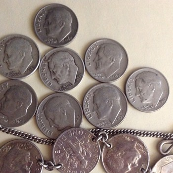 Roosevelt dime collection. - US Coins