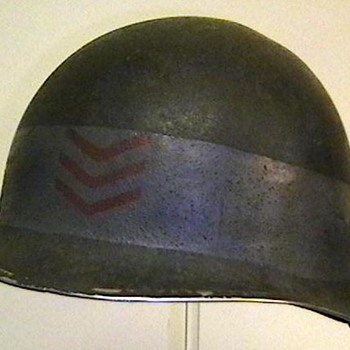U.S. Navy Petty Officer D Day Helmet - Military and Wartime
