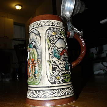 Antique German Beer stein - Breweriana