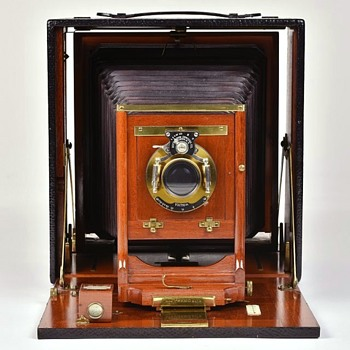 Reversible Back Premo, Rochester Optical Company. 1897 - 1900 - Cameras