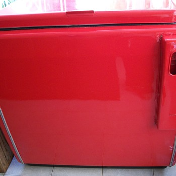 Vintage Coke Chest Cooler