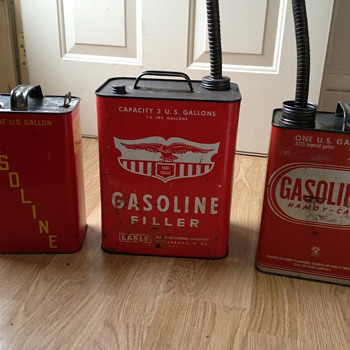 Metal Gasoline Cans