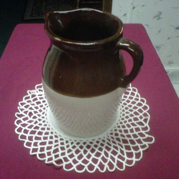 ~Milk Jug Pottery~ - Art Pottery