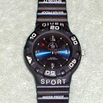 Sport Diver Wrist Watch - Wristwatches