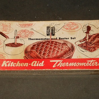 Vintage Kitchen-Aid Thermometer and Baster Set - Kitchen